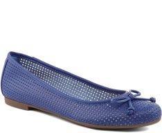 Sapatilha Furadinha Azul Royal