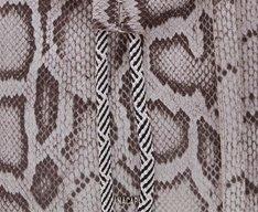 Bucket Geométrica Snake Cinza