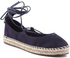Espadrille Lace Up Azul