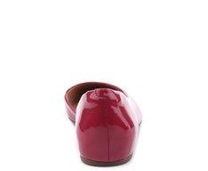 Sapatilha Assimétrica Verniz Vermelho