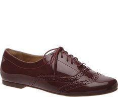 Oxford Brogue Verniz Amora