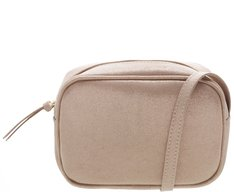 Crossbody Firenze Brilho Nude