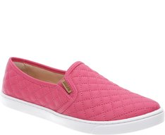 Tênis Slip On Nylon Rosa