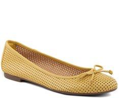 Sapatilha Furadinha Amarela