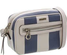 Crossbody Paris Listras Azul