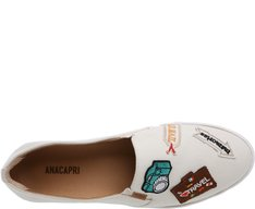 Tênis Slip On Patches Cru