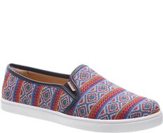 Tênis Slip On Étnico Multicolor